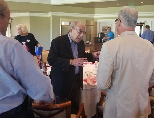 ALZ Germ Quest Visits Local Rotarians Who Support ALZ Research