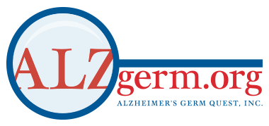 Alzheimer's Germ Quest, Inc. Mobile Logo