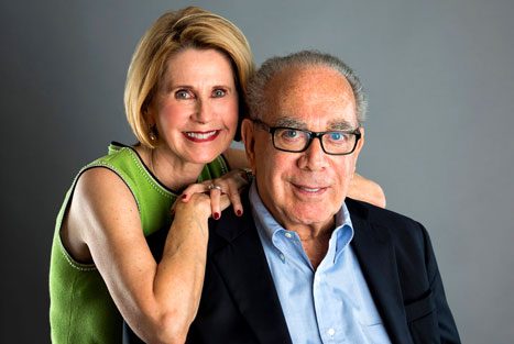 Dr. Leslie Norins, M.D., Ph.D and wife, Rainey Norins the founders of the Alzheimer's Germ Quest, Inc. A $1 million dollar challenge award for the scientist who can provide persuasive evidence that an infectious agent is the root cause of Alzheimer's disease.
